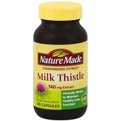 Nature Made Milk Thistle 140mg Capsules 50 Ct.