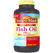 Nature Made Odorless Fish Oil Softgels 200 ct.