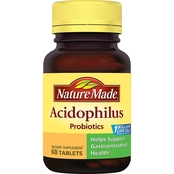 Nature Made Acidophilus Probiotic Tablets 60 Ct.