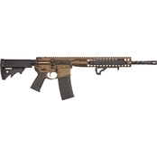 LWRC Direct Impingement Rifle 556NATO 16.1 in. Barrel 10 Rnd Rifle Bronze
