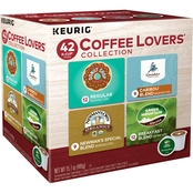 Keurig Coffee Lovers Collection K-Cup 42 Ct.