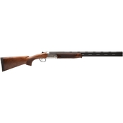 Stevens 555 20 Ga. 26 in. Barrel 2 Rds Shotgun Silver with 5 Choke Tubes