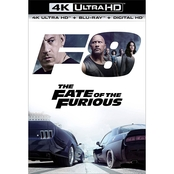 The Fate of the Furious 4K BD (4K Blu-ray + Blu-ray + Digital HD)