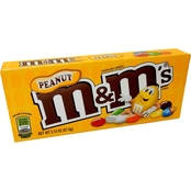 M&M Peanut Theater Candy, 12 Boxes