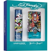 Ed Hardy Men's 2 Pc. Gift Set