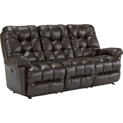 Best Home Furnishings Everlasting Leather Power Motion Sofa with Tilt Headrest