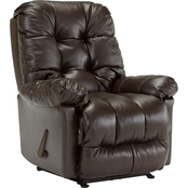 Best Home Furnishings Brosmer Leather Rocker Recliner