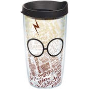 Tervis Tumblers 16 oz. Harry Potter Glasses and Scar Wrap Tumbler
