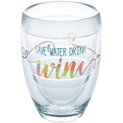 Tervis Tumblers 9 oz. Save Water Drink Wine Stemless Wine Glass