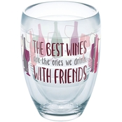 Tervis Tumblers 9 oz. Wine With Friends Stemless Wine Glass