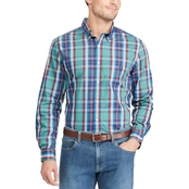 Chaps Button Down Easy Care Stretch Cotton Shirt