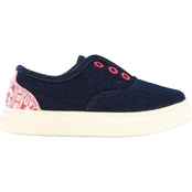 Oomphies Girls Robin Canvas Slip On Shoes
