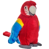 National Geographic Plush Red Tropical Parrot
