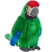 National Geographic Plush Green Tropical Parrot