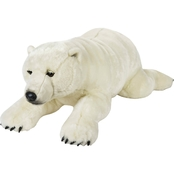 National Geographic Plush Giant Polar Bear
