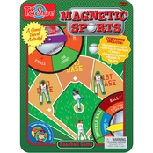 T.S. Shure Baseball Magnetic Sports Game Tin