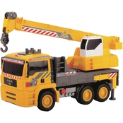 Dickie Toys 12 Inch Air Pump Action Mobile Crane Truck