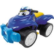 Dickie Toys Happy Rescue 11 Inch Vehicle, Police Quad