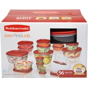 Rubbermaid Easy Find Lids 56 pc. Food Storage Container Set