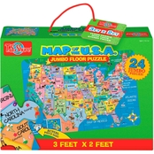 T.S. Shure US Map Jumbo Floor Puzzle