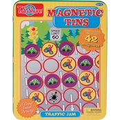 T.S. Shure Traffic Jam Magnetic Tin Playset