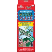 T.S. Shure Rubber Band Powered Defense Flier Model Plane Kit