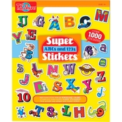 T.S. Shure ABCs and 123s Super Sticker Art Book
