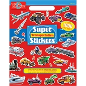 T.S. Shure Transportation Super Sticker Art Book