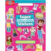 T.S. Shure Fashion Super Stickers Book