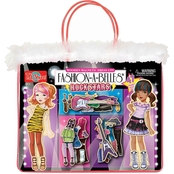 T.S. Shure Fashion A Belles Rockstar Wooden Magnetic Dress Up Dolls