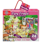 T.S. Shure Farm Friends Jumbo Floor Puzzle