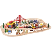 BigJigs Toys Freight Train Set