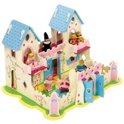 BigJigs Toys Heritage Wooden Playset Princess Cottage