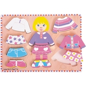 BigJigs Toys Big Dressing Girl Puzzle