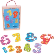 BigJigs Toys 1 - 9 Number Puzzle