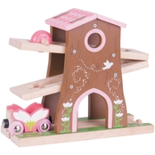 BigJigs Toys Pixie Dust Tree House Wooden Train Accessory