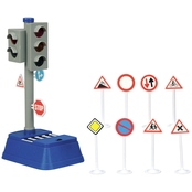 Dickie City Traffic Light and Accessories