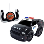 Jam'n Products Gear'd Up Chunky Remote Control Ford Mustang Police Vehicle