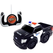 Jam'n Products Gear'd Up 1:10 Scale Chunky Remote Control Ford F-150 Police Vehicle