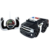 Jam'n Products Preschool Chunky Remote Control Chevrolet Silverado Police Vehicle