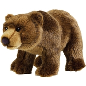 National Geographic Plush Grizzly Bear