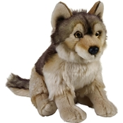National Geographic Plush Wolf