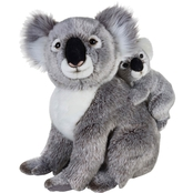 National Geographic Plush Koala with Baby