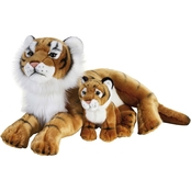 National Geographic Plush Tiger with Baby