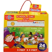 T.S. Shure School Time Fun Jumbo Floor Puzzle