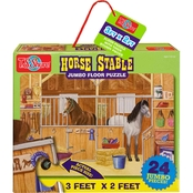 T.S. Shure Horse Stable Jumbo Floor Puzzle