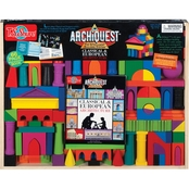 T.S. Shure ArchiQuest Classical European Architecture Wooden Blocks Painted Edition