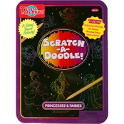 T.S. Shure Scratch-A-Doodle Princesses and Fairies Activity Tin