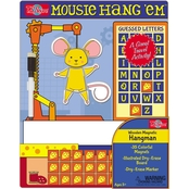 T.S. Shure Hang 'Em Mouse Wooden Magnetic Hangman Game