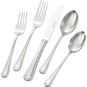 J. A. Henckels International 65 Pc. Flatware Alcea Pattern